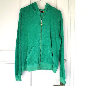 Γυναικεία Ζακέτα Πράσινη Με Κουκούλα