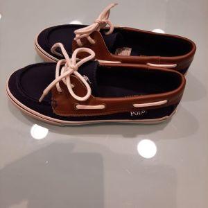 Polo Ralph Lauren Παιδικά παπουτσια polo μπλε