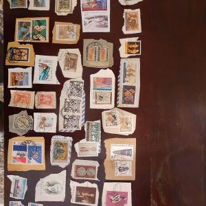 Παλιά ελληνικά κ ξένα γραμματόσημα