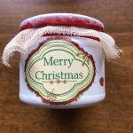 Χριστουγεννιάτικο χειροποίητο βαζάκι