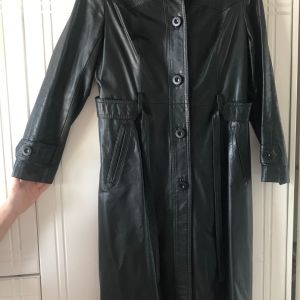 Vintage παλτο απο γνησιο δερμα