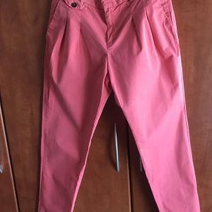 υφασμάτινο παντελόνι Zara καλοκαιρινό
