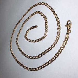 Χρυσή αλυσίδα 14Κ, 12.57γρ., μήκος 60εκ., πάχος 3.5χιλ.