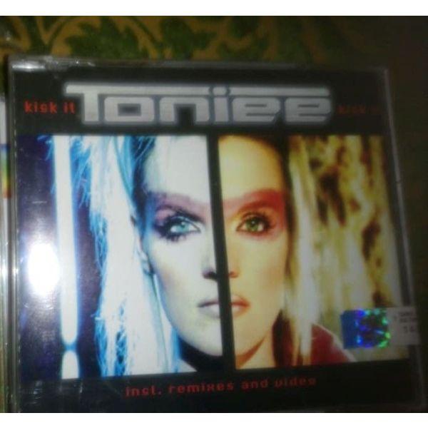 CD MAXI sfragismeno-TONIEE-KICK IT