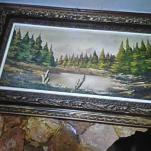 συλλεκτικός πίνακας ζωγραφικής με υπογραφή