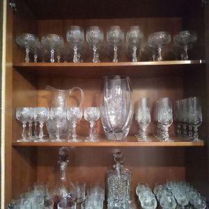 Πωλούνται κρυστάλλινα ποτήρια Nachtmann σκαλισμένα στο χέρι αχρησιμοποίητα...
