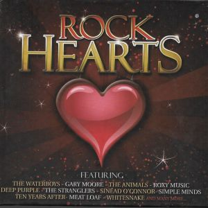 4 CD / Rock hearts