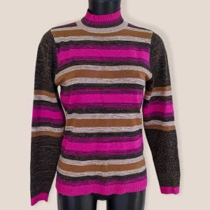 Πολύχρωμο κασμιρένιο πουλόβερ σαν καινούριο προσφορά