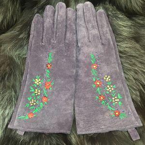 Δερμάτινα γάντια ζωγραφισμένα στο χέρι