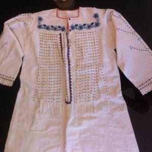 Πουκαμίσα φορεσιάς της δεκαετίας 1930, από τη Μακεδονία αυθεντική!