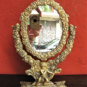 Καθρέφτης μπρούτζινος