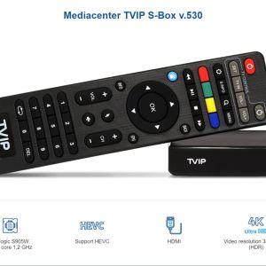 ΝεοTV ΒΟΧ το καλύτερο για  IPTV HD STB/STALKER  Με Ελληνικό Μενού - TVIP 530 Linux tv box I-P-T-V streaming box I-P-T-V tv box Support Protal