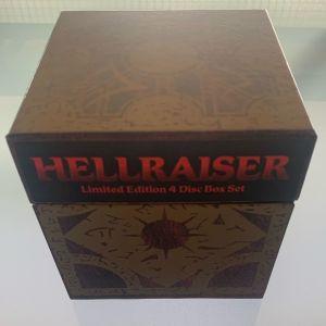 Hellraiser limited edition 4 dvd box set
