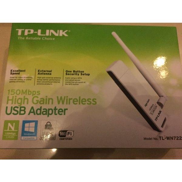 gia diktio wifi TP LINK USB ADAPTER