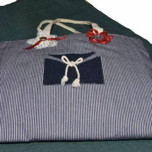 Vintage χειροποίητη τσάντα