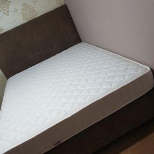 διπλό  κρεβάτι με αποθηκευτικό χώρο