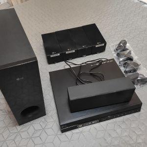 LG 5.1 850W Home Theatre System + Δώρο Βάσεις Τοίχου