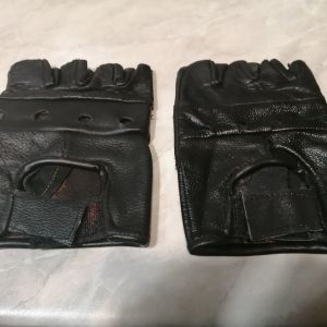 Δερμάτινα γάντια unisex δίχως δάχτυλα!
