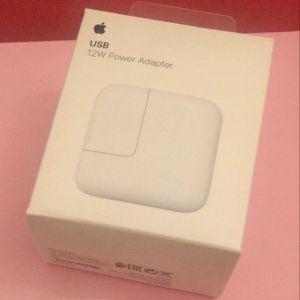 Πωλείται: αυθεντικός αντάπτορας Apple με ισχύ φόρτισης 12W