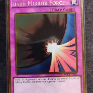 Dark Mirror Force Gold Rare