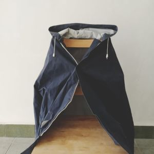 Αδιάβροχο jacket μπλε σκούρο