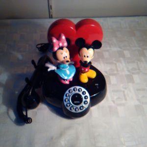 Παιδικό τηλέφωνο  Disney Minnie-Mickey Mouse