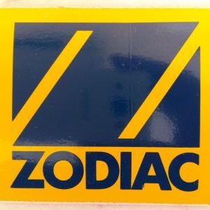 Συλλεκτικό αυτοκόλλητο ZODIAC σκαφών αναψυχής
