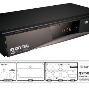 Αποκωδικοποιητής Crystal Audio MPEG4 USB