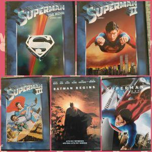 ΤΑΙΝΙΕΣ SUPERMAN ΚΑΙ BATMAN