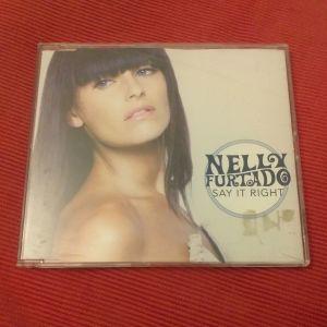 NELLY FURTADO - Say it right CD single