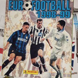 Κενό άλμπουμ Euro Football 1998-99