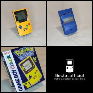Game Boy Color LIGHT (Pokemon Pikachu edition) & Box Gesto_official