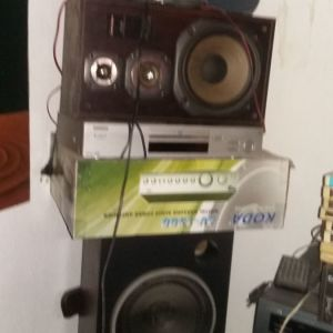 KODAK  AV 1300 DIGITAL KARAOKE AUDIO  POWER   AMPLIFIER