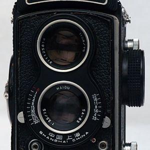 Seagull 6x6 Rollfilm Camera  f/3.5 Haiou Lens (ΜΕ ΘΗΚΗ)