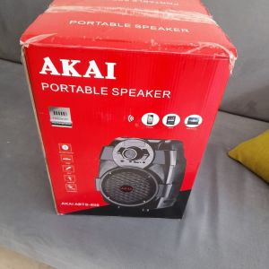 Akai ABTS-806 Φορητό ηχείο Bluetooth με USB, Aux-In και είσοδο μικροφώνου