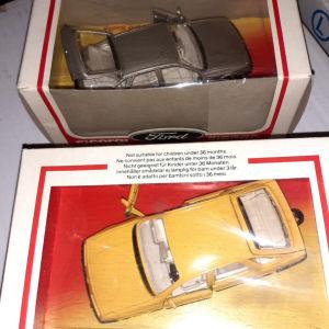 2 μοντελα αυτοκ.Corgi 1/36 Ford Sierra