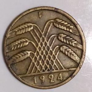 10 pfennig του 1924 Γερμανια