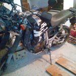 Πωλειται Honda Africa Twin 750cc 1990 για ανταλλακτικα ή χρηση