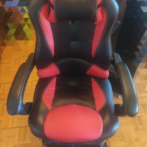 Καρέκλα GAMING ΜΕ ΥΠΟΠΟΔΙΟ Homemarkt