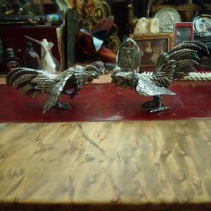 διακοσμητικά κοκορες από κοκορομαχιες