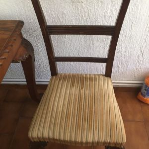 οι καρέκλες της γιαγιάς