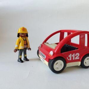 Playmobil - μικρο πυροσβεστικό όχημα
