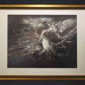 """""""Ενέργεια"""" André Bongibault, Gravure Aquatinte,  χαρακτικό Ε/Α"""