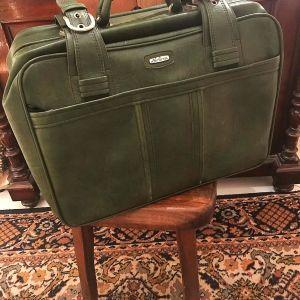 Vintage Βαλίτσα Οικολογικό Δέρμα