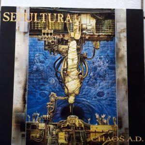 SEPULTURA - CHAOS A.D.  (βινυλιο/δισκος heavy metal)