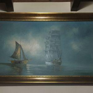 Ελαιογραφία πίνακας ζωγραφικής