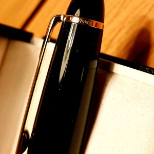 MONTBLANC MEISTERSTUCK PIX GOLD COATED LE GRAND