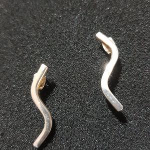 σκουλαρίκια ασημένια 1