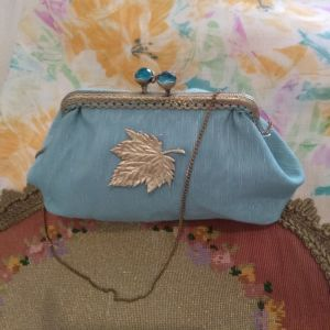 Vintage τσαντάκι-πορτοφόλι
