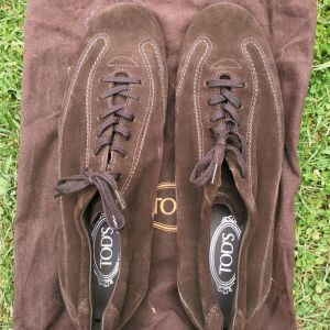 TODS Brown Sneakers Shoes Νο.11 ½